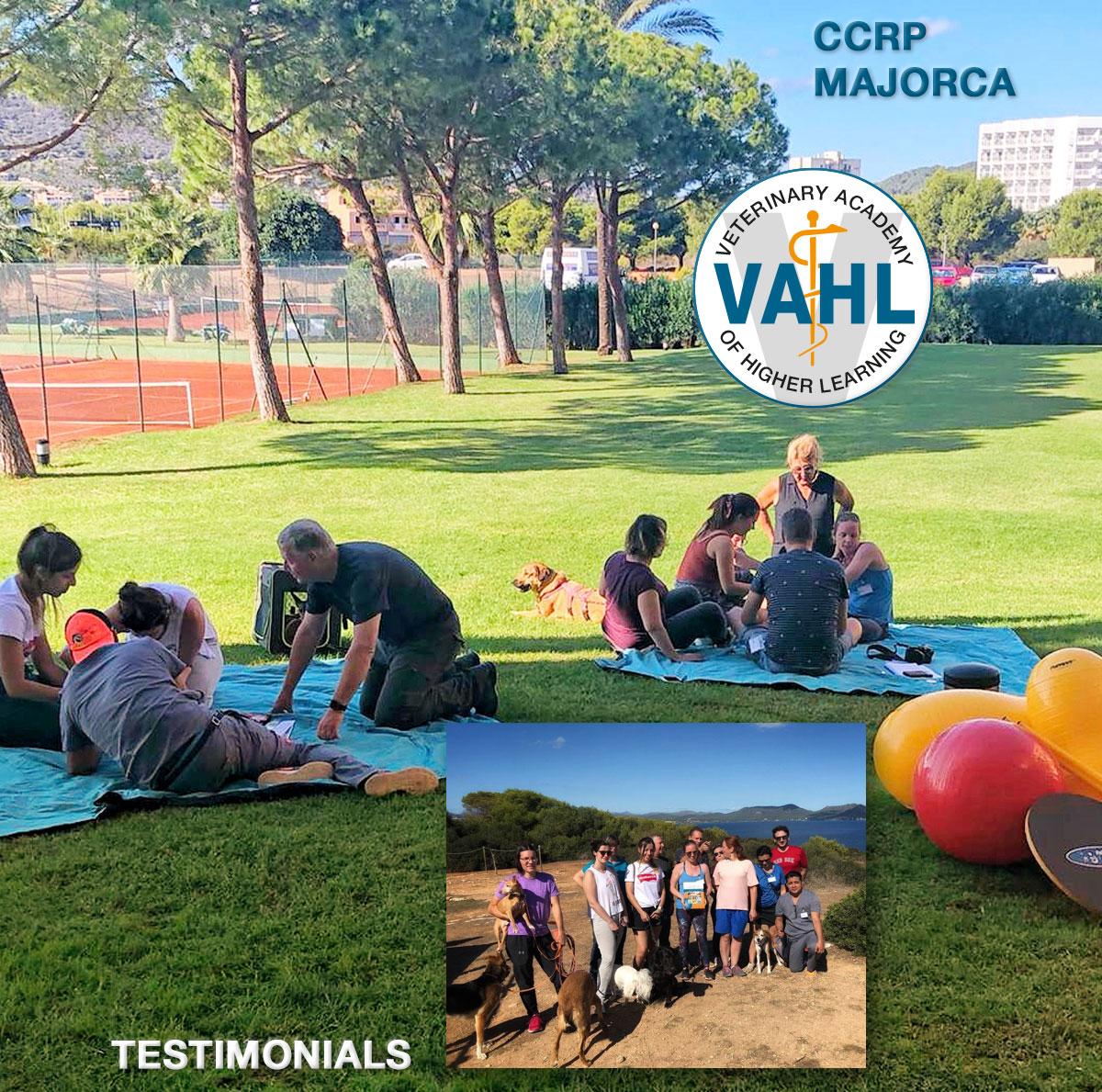 CCRP by VAHL - Majorca 2019 - Testimonials